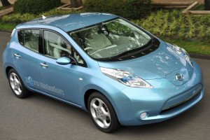 Nissan LEAF  (PRNewsFoto/Nissan Motor Co., Ltd.)