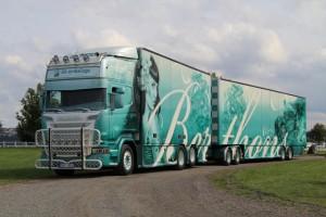 Scania R560 Berthons Hot Rod