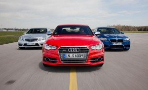 Mercedes, BMW и Audi