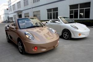 Китайские электромобили с внешностью авто премиум класса